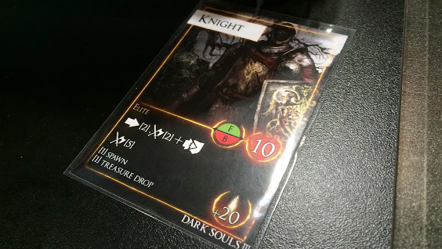 Dark Souls Board game preview knight card