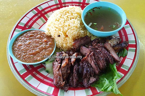 Grilled Beef Rice Langkawi