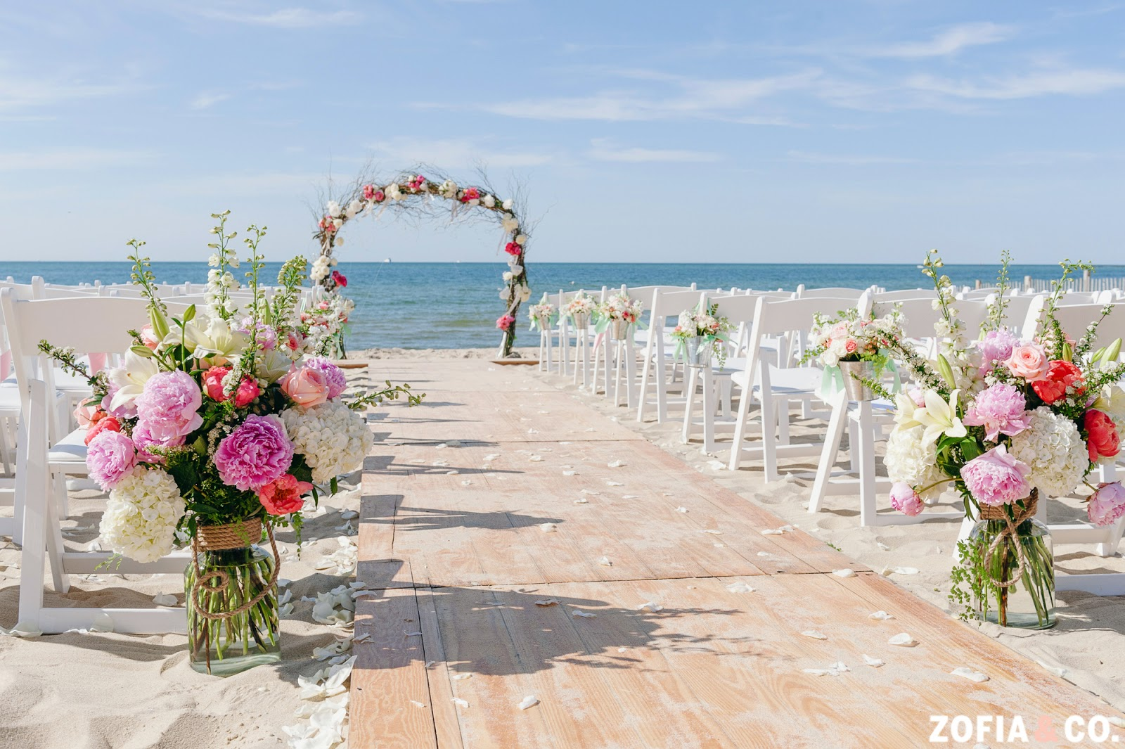 Wedding At The Beach: Nico And LaLa: Nautical Galley Beach Wedding