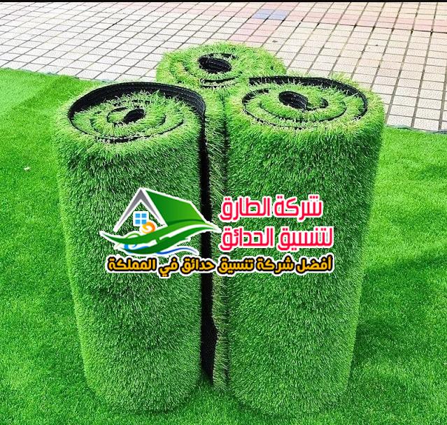 عشب صناعي في الرس