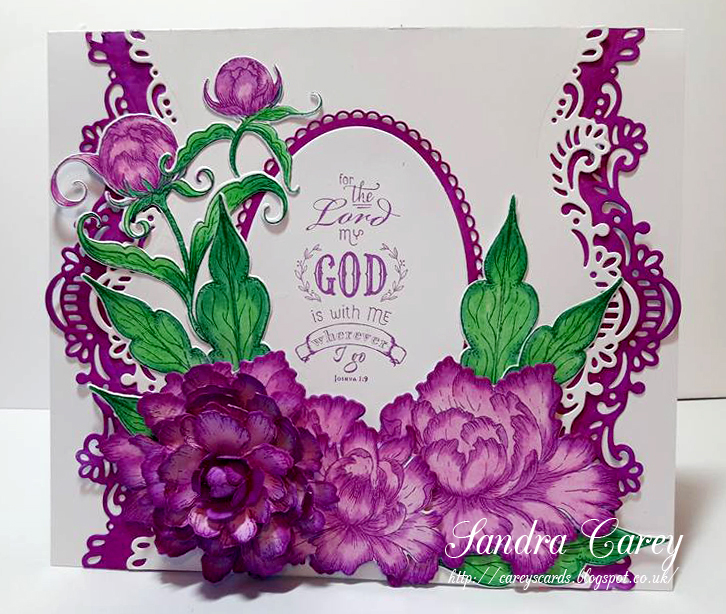 7156 Heartfelt Creations Die Set ~ EYELET OVAL /& BASICS SMALL ~ Layered Cards