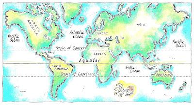 13 Negara Yang Berlokasi di Garis Ekuator