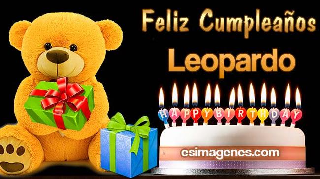 Feliz Cumpleaños Leopardo