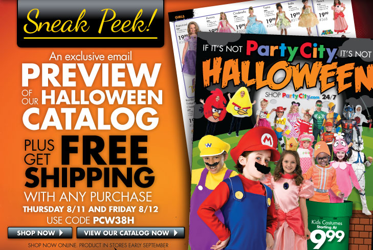 Promo code for party city free shipping : Pottery barn