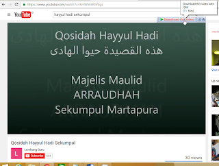 IDM Support Download Youtube Video