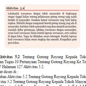 Aktivitas 5.2 Pkn Kelas 7 Halaman 127