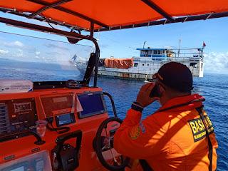 Kapal Duta Malino Mengalami  Mati Mesin di Perairan Tanjung Menangis