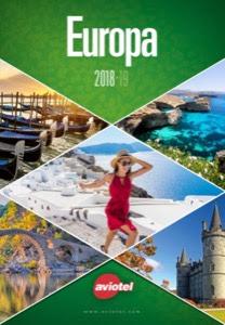 Catálogo de la mayorista de viajes Aviotel por Europa 2018