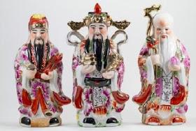 Feng Shui: Cei 3 nemuritori