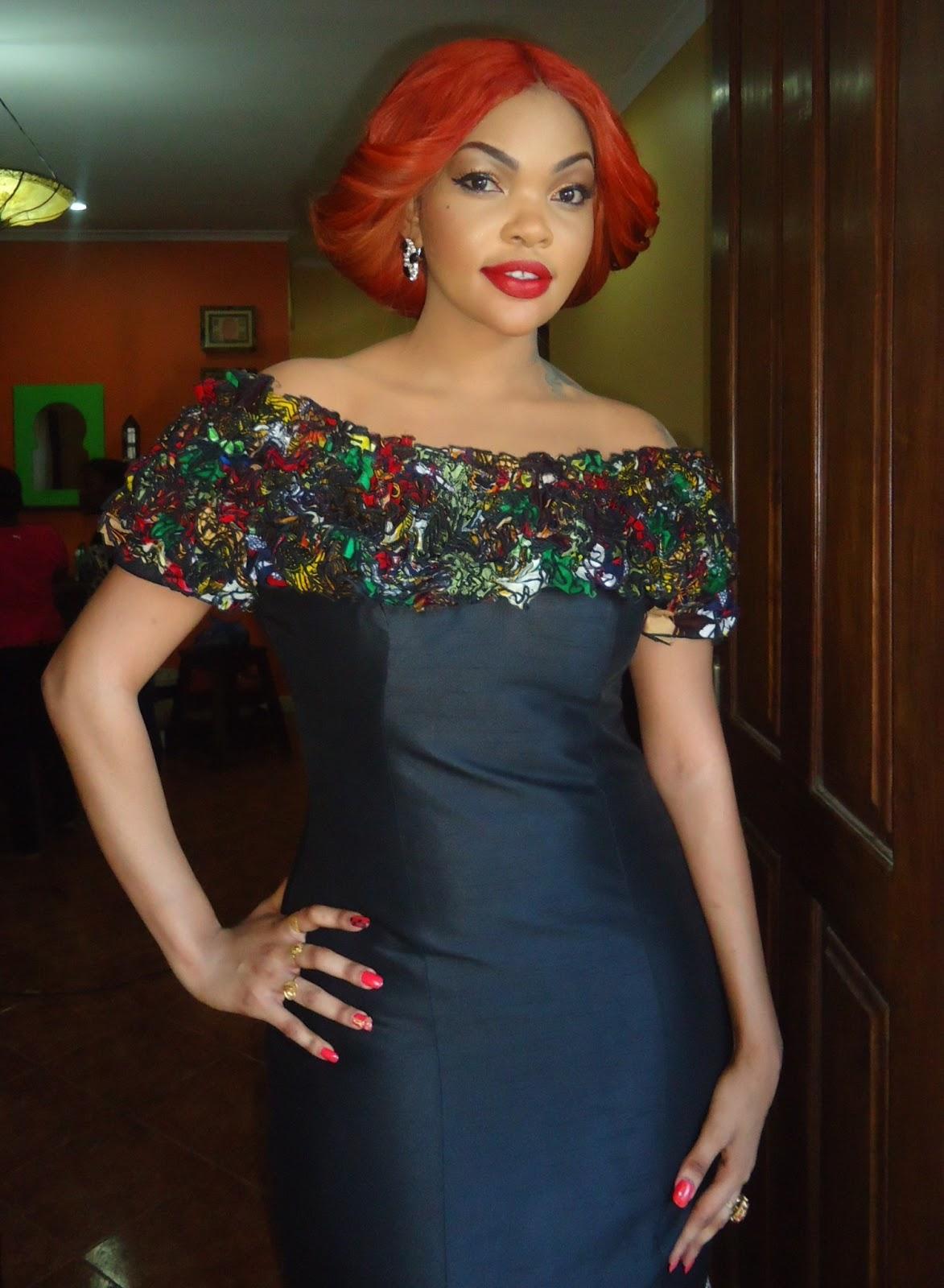 Glambox:Beautiful make~up is our hallmark!: Wema Sepetu-kili awards makeover