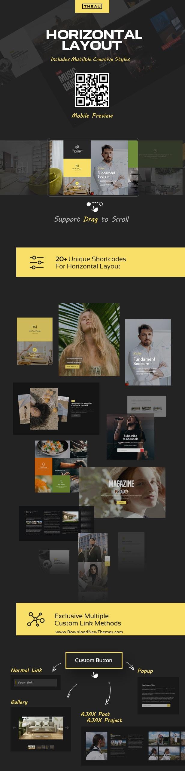 Photography & Portfolio WordPress Theme