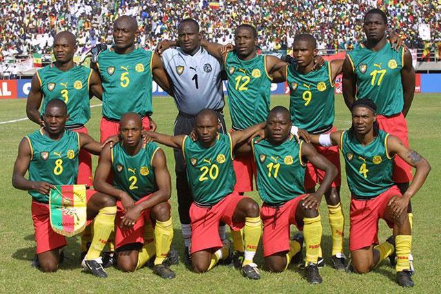 Baju Tanpa Lengan Timnas Kamerun