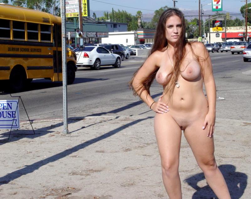 milfs nude on the street
