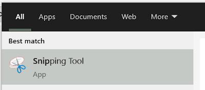 cara screenshoot layar di laptop dengan snipping tool