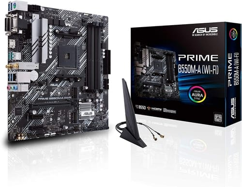 ASUS Prime B550M-A WiFi AMD AM4 Motherboard