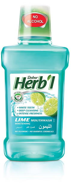 Product Review – Dabur Herb'l Lime Whitening Mouthwash
