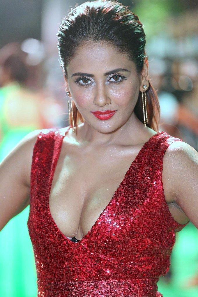 Kannada Actress Parul Yadav At IIFA Awards 2017 In Red Dress