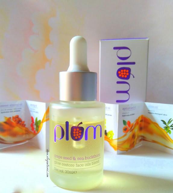 Plum Grape Seed & Sea Buckthorn Glow Restore Face Oils Blend
