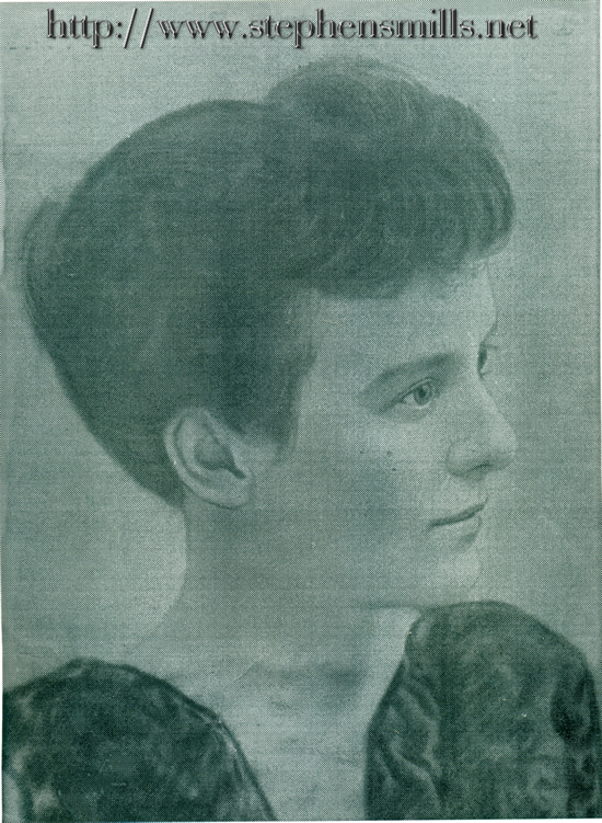 Early Photo of Fannie Laura Herrick Cox