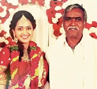 Anchor Lasya Family Husband Parents children's Marriage Photos