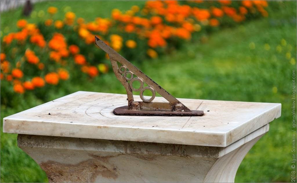 Греция Афины Национальный сад парк солнечные часы