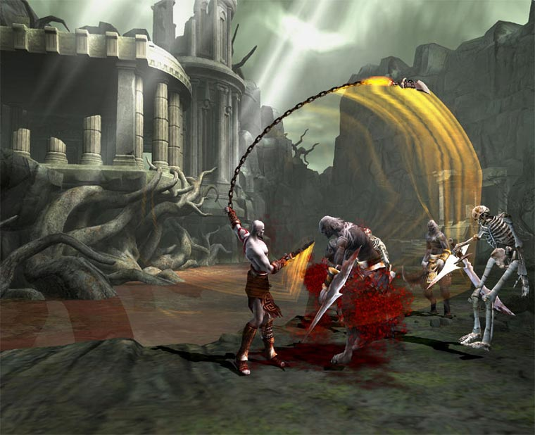 How to download god of war chains of olympus psp highly