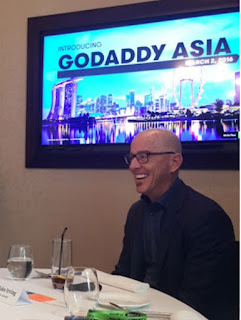 Blake Irving, GoDaddy CEO.