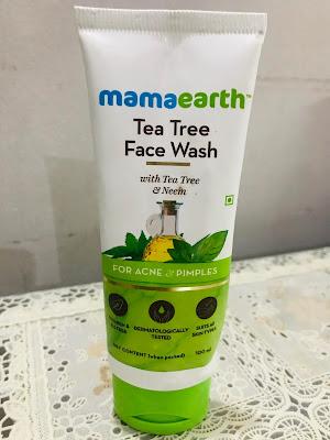 mamaearth face wash