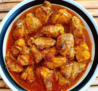 Resep dan Cara Memasak Ayam Santan Terasi