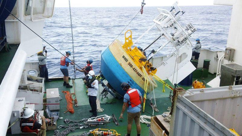 Armada instaló boya con 140 sensores frente a Tocopilla
