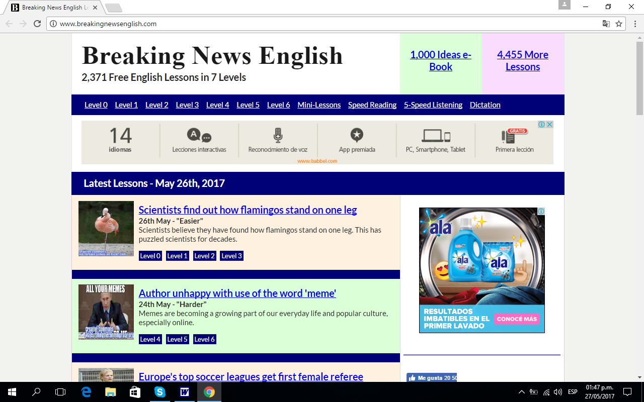 Breakingnewsenglish speak english perfectly las diez mejores páginas para practicar,Paginas De Memes En Ingles