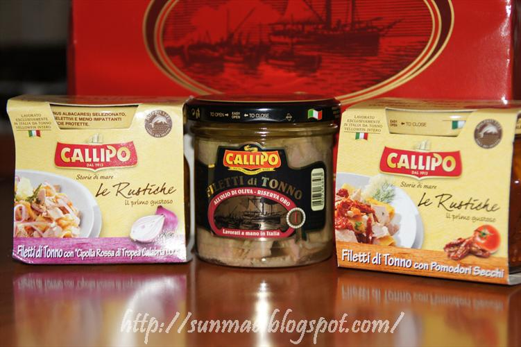I piaceri della tavola Callipo tonno e gelati