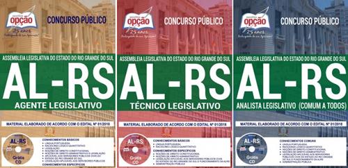 Apostila Assembléia Legislativa RS TÉCNICO LEGISLATIVO 2018