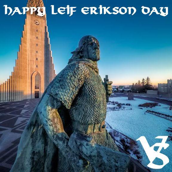 Leif Erikson Day Wishes pics free download