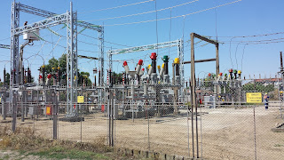Brightly Coloured, Electric, Power Grid, Components, Yambol,