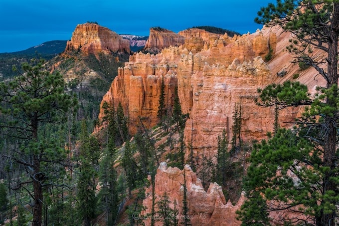 Swamp Canyon in Bryce Canyon National Park, Utah