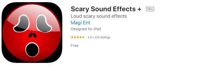 scary sound effect apps