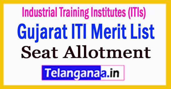 Gujarat ITI Merit List 2018 Seat Allotment