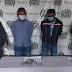 Capturados en Valledupar por uso de arma de fuego ilegal