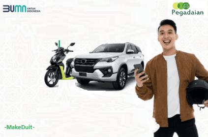 Cara Kredit Mobil dan Motor di Pegadaian
