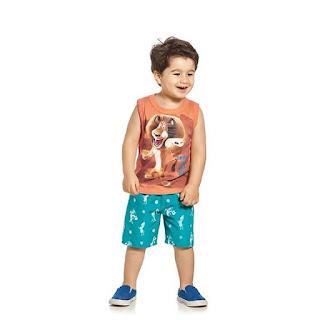 Ponta de estoque de moda infantil