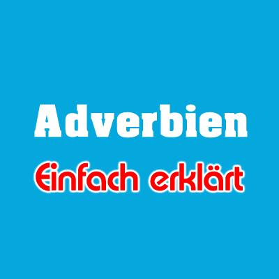Deutsche Adverbien