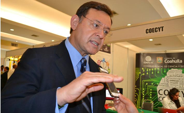 Director General del Consejo Estatal de Ciencia y Tecnología (Coecyt), Lauro Cortés Hernández, quien participó en la primera edición del ECAL 2016. (Foto: VI)