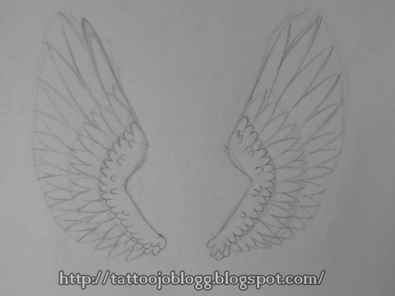 TattooJO`s blogg Tutorials and artwork: How to draw angel ...