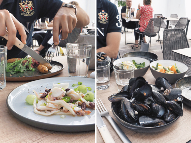 Déjeuner au restaurant bistronomique Madame Jeanne à la maison Buon à Marseille