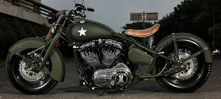 the soldier sportster military by studiomotor side left