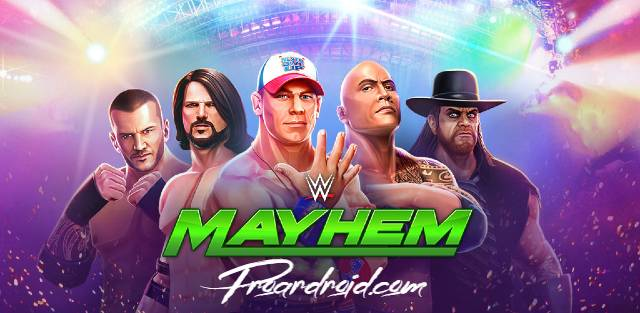 تحميل لعبة المصارعة الحرة WWE Mayhem النسخة المهكرة للاندرويد باخر تحديث برابط مباشر سريع مجانا ..