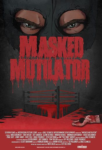 Masked Mutilator (2019) Dual Audio 720p WEB-DL [Hindi + English] Full Movie
