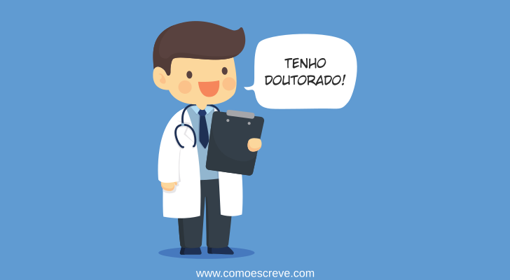 Abreviaturas de Doutor: Como escrever e Plural
