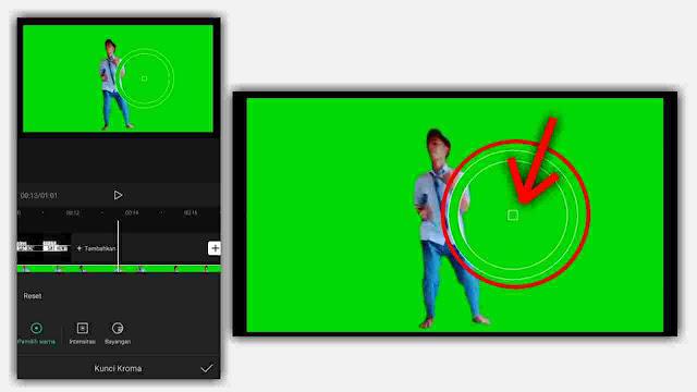 Cara Menghilangkan Greenscreen di CapCut